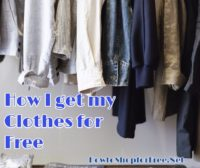 How to Get Free Clothes!