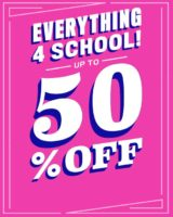The Children's Place, Everything 4 School 50% off!