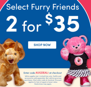 2for35+buildabear