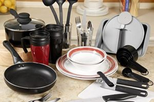 Perfect for College, 38pc. Kitchen Set $46 Shipped!
