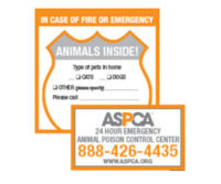 *FREE* ASPCA Pet Safety Magnet & Window Decal!