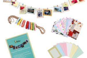 $6.18 DIY Photo Frame Clothesline Kit, Fun Dorm Decor!!