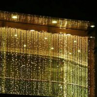 $17.88 Gorgeous Curtain Lights, Great for Parties & Holidays!