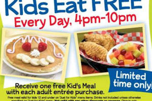 IHOP 'Kids Eat Free' is Back from 8/1 through 9/25