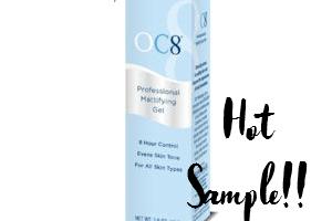 Free Sample—OC8 Professional Mattifying Gel!