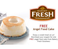 FREE Angel Food Cake Kroger Shoppers!!!