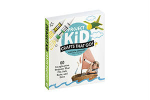 Win 1 of 10 Copies of Project Kid: Crafts That Go!!
