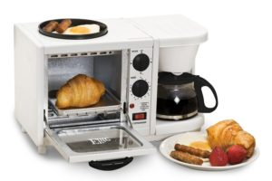 3-in-1 Breakfast Center UNDER $38! Perfect for Dorms!