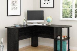 Under $79!! L-Shaped Desk with Bookshelves (was $120)