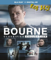 Today Only, The Bourne Classified Collection $19.99!