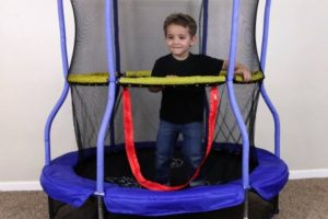 55″ Bounce-n-Learn Trampoline OVER Half Off!