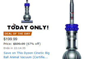 *Deal of the Day* Dyson Cinetic Pet Vacuum SAVE $400!!