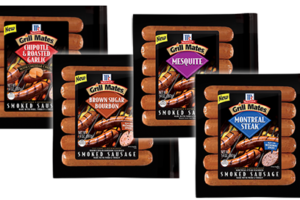 $1.99 Grill Mates Sausage @ Shaw's w/ HOT DOUBLER