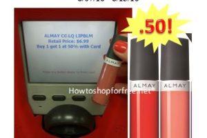 Almay Lip Gloss only $.50 at CVS!