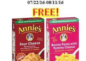 Free Annie's Mac & Cheese at Roche Bros.!