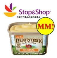 MM on Country Crock at Stop & Shop!