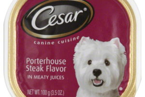 38¢ Cesar Dog Food @ PetSmart with coupons!