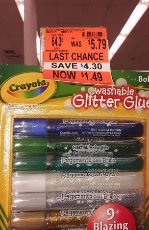 crayiola glitter