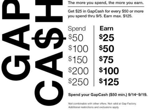 gap+cash