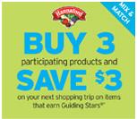 Buy 3 Select Guiding Stars Items at Hannaford and Get a $3.00 Catalina (through 08/27)