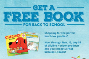 FREE Scholastic Book WYS $5 on Horizon Products