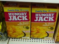 50¢ Hungry Jack Potatoes @ Dollar Tree, Great side for busy nights!