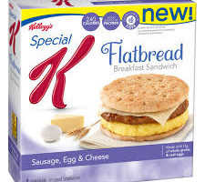 Easy Breakfast Sandwich On-The-Go! Save $1/2