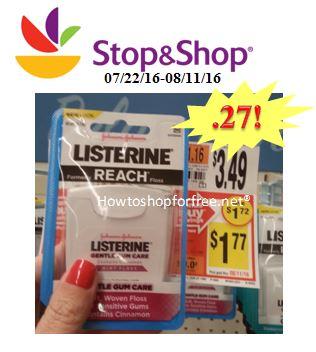 listerine floss