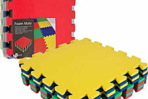 Colorful Foam Mat 8pc. ONLY $8 from Staples! (was $40)