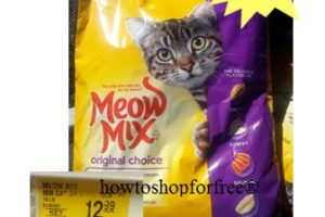 16 lbs of Meow Mix for only .99 at Pet Smart!