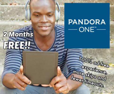 pandora+one+free