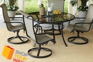 UNDER $400—5pc. Swivel Dining Set *Hot Buy!* (was $700)