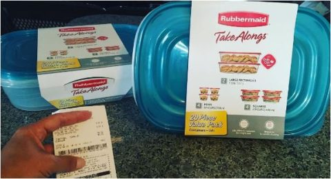 rubbermaid 1 cent dollar general