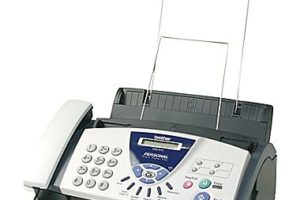 $30 Brother Fax Machine, That's OVER Half Off!