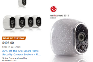 *Deal of the Day* Home Security 5-Camera Bundle UNDER $100 per cam!