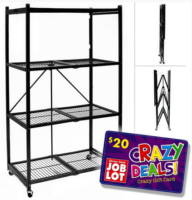 20-Second Steel Folding Shelf UNDER $40!