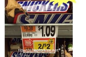 Free Snickers Bar at Stop & Shop!
