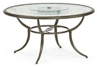 RUN!! $60 Jaclyn Smith Dining Table with Lazy Susan—Save $140!