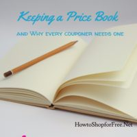 Keeping a Pricebook ~ Why Every Couponer Needs One