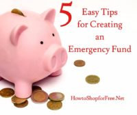 5 Simple Steps to Save for an Emergency Fund