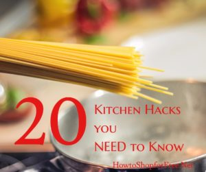 20 Kitchen Hacks You NEED To Know!