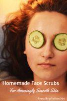 5 DIY Homemade Face Scrubs & Masks!