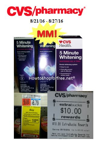 run mm on cvs 5 minute whitening kit tooth whitening system
