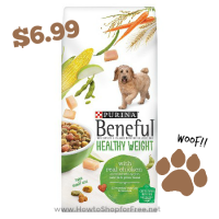 $6 OFF Beneful Healthy Weight Dog Food @ Target!