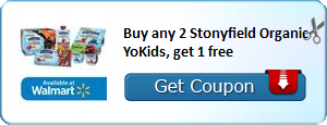 WOW, Stonyfield B2G1 Free Coupon! *New!*