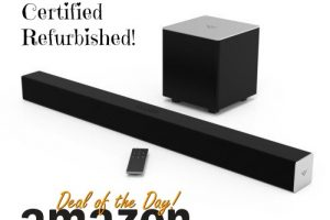 *Deal of the Day* 50% off VIZIO Sound Bar + Wireless Subwoofer