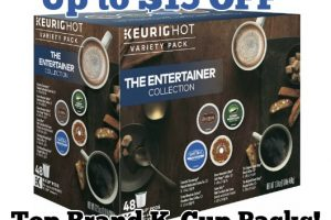 Up to $15 OFF Top Brand K-Cup Pods!