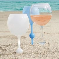 The Beach Glass, Great Gift for any Wine Lover!