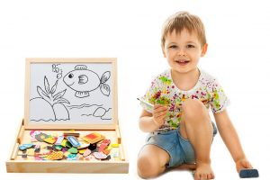 $12.99 Double-Face Puzzle Game/Dry Erase Board!!