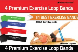 WOW ~ 80% OFF 4 Resistance Exercise Loop Bands, $7.99!